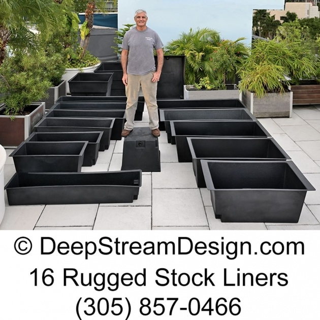 Easy Planter Liner Photo