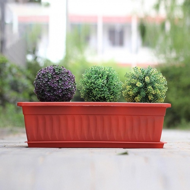 Easy Rectangular Plant Pots Photo
