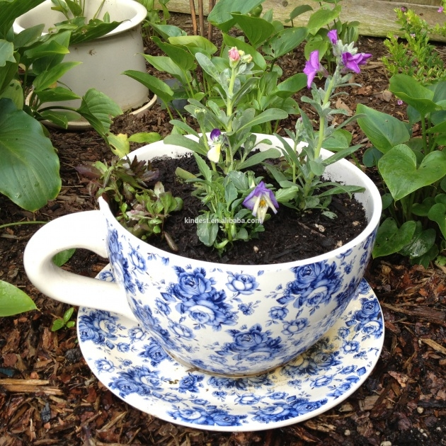 Easy Tea Cup Planter Picture