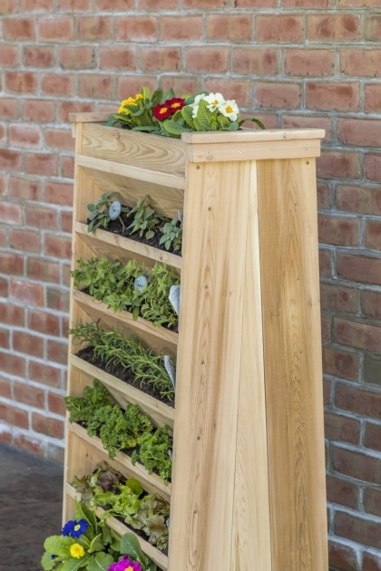 Easy Vertical Garden Planters Picture