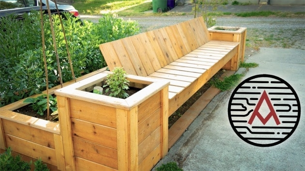 Fantastic Planter Box Seat Picture