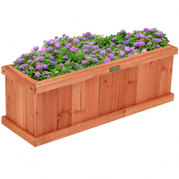 Fantastic Rectangular Planter Box Image