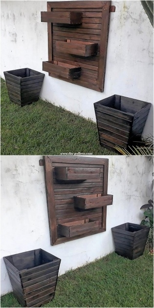 Fantastic Wall Mounted Planter Boxes Photo