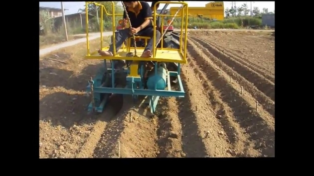 Fascinating Cassava Planting Machine Picture