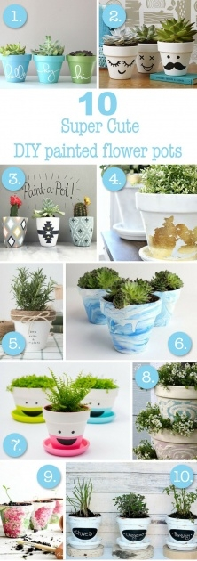 Fascinating Diy Plant Pots Picture