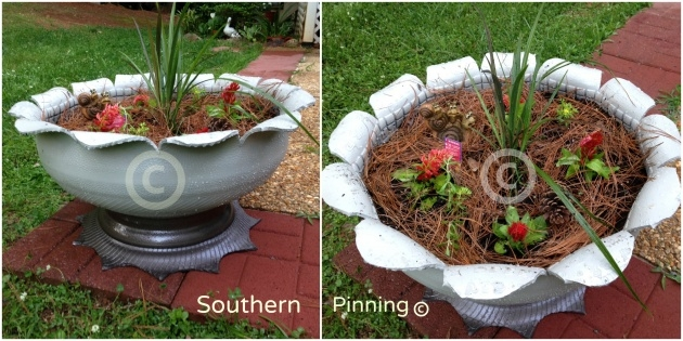 Fascinating How To Make Tire Planters Photo