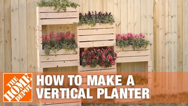 Fascinating Vertical Planter Box Picture