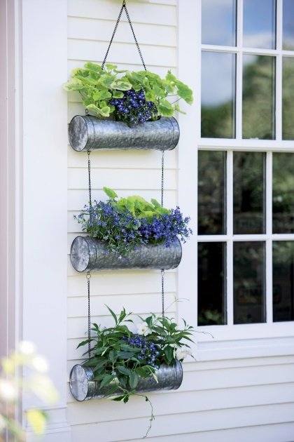 Gallery Of Balcony Hanging Planters Photo