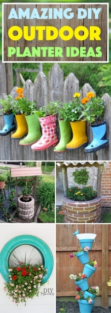 Gallery Of Diy Garden Planter Ideas Picture