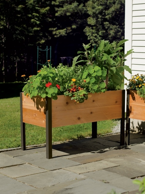 Gallery Of Garden Planter Box Photo
