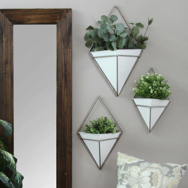 Gallery Of Metal Wall Planters Picture
