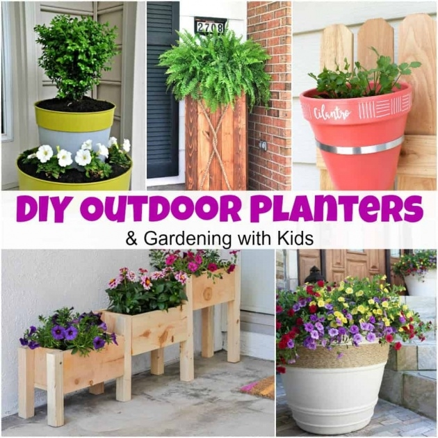 Gallery Of Outside Planters Picture