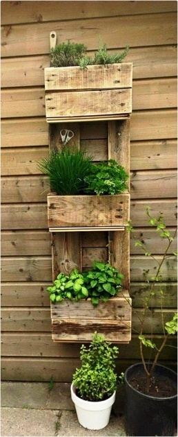 Gallery Of Pallet Planter Ideas Photo