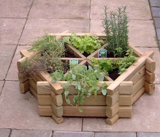 Gallery Of Small Planter Box Ideas Picture