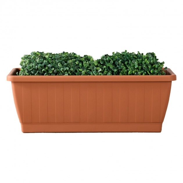 Gallery Of Terra Cotta Planter Box Photo