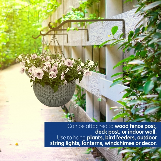 Gallery Of Wall Plant Hangers Outdoor Photo