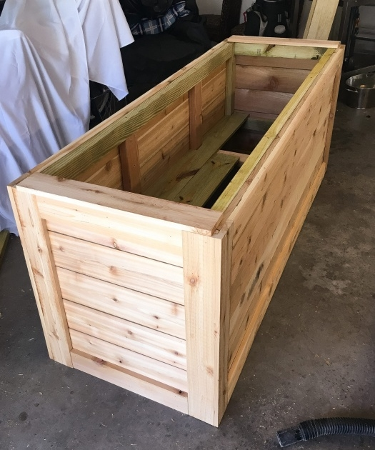 Gallery Of Wooden Planter Box Diy Photo