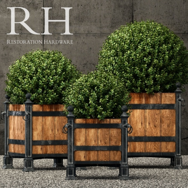 Good Restoration Hardware Planters Photo