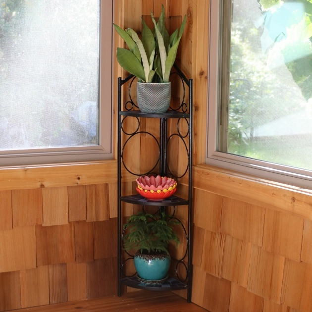 Gorgeous Corner Plant Stand Image