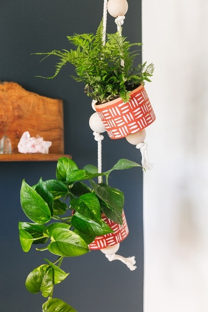 Gorgeous Diy Hanging Planter Image