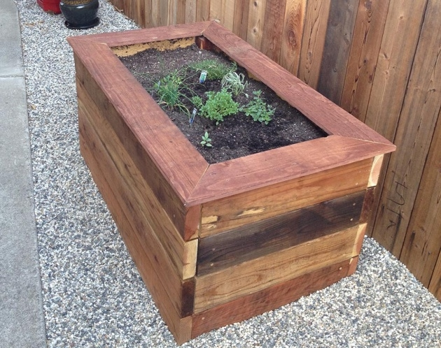 Gorgeous Planter Box Plans Free Picture