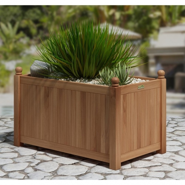 Gorgeous Rectangular Plant Pots Picture