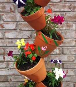 Tower Plant Pots