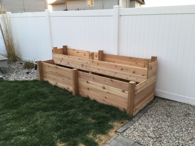 Gorgeous Wooden Garden Planters Picture