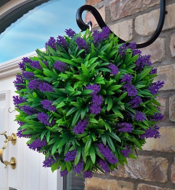 Great Artificial Hanging Plants For Outside Photo