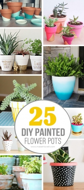 Great Homemade Plant Pots Photo