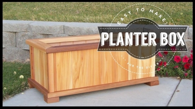 Great Ideas Making A Wooden Planter Box Photo