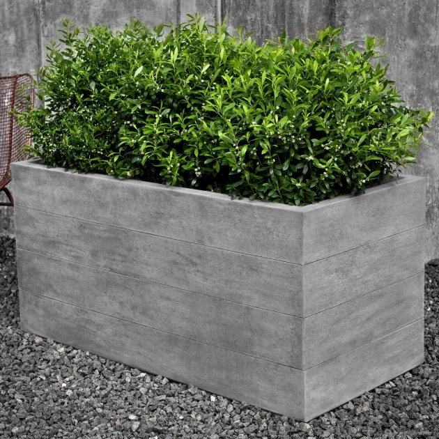 Great Ideas Stone Planter Box Photo