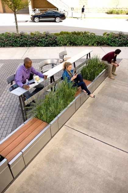 Great Ideas Street Furniture Planters Image