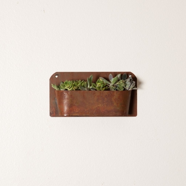 Great Rustic Wall Planter Photo