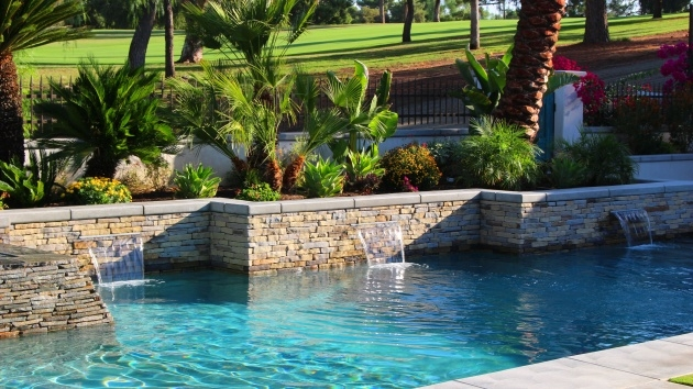 Great Swimming Pool Planters Image