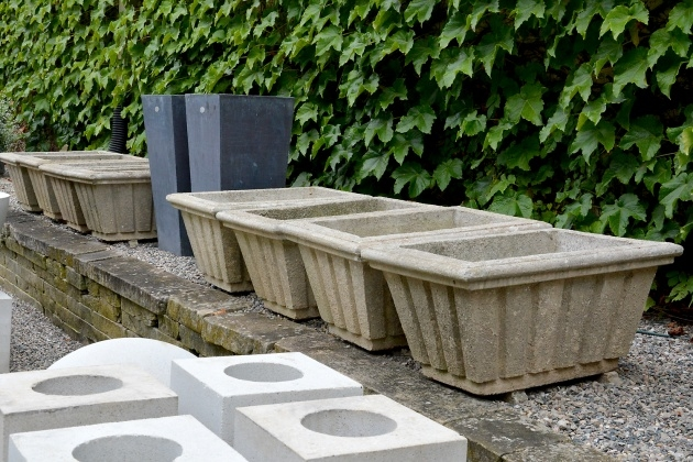 Ideas for Cast Stone Planters Image