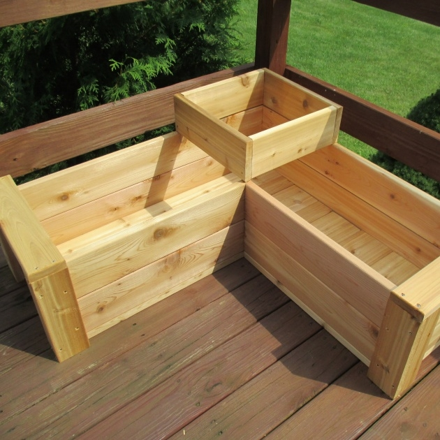 Ideas for Deck Planter Boxes Image