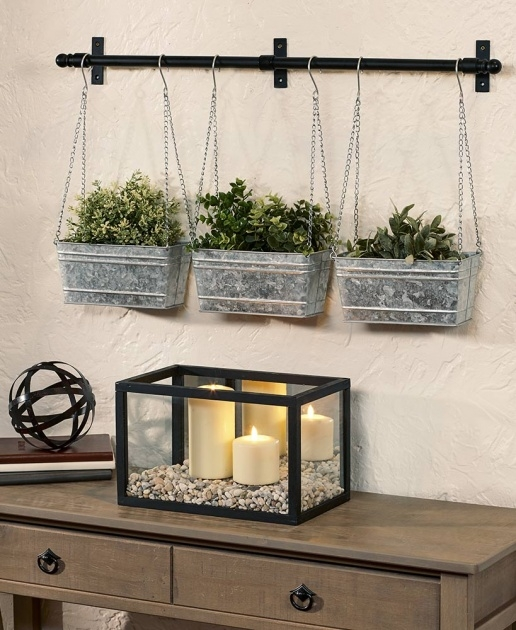 Ideas for Metal Wall Planters Picture