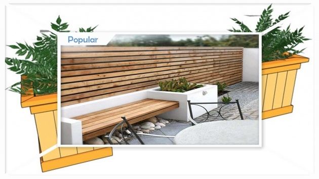 Ideas for Modern Planter Bench Picture