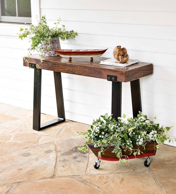 Ideas for Outdoor Plant Table Picture
