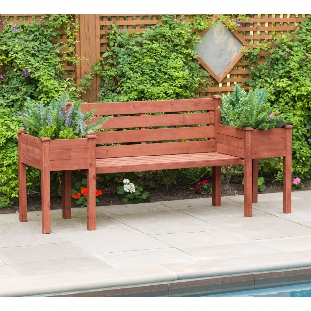 Ideas for Planter Bench Photo
