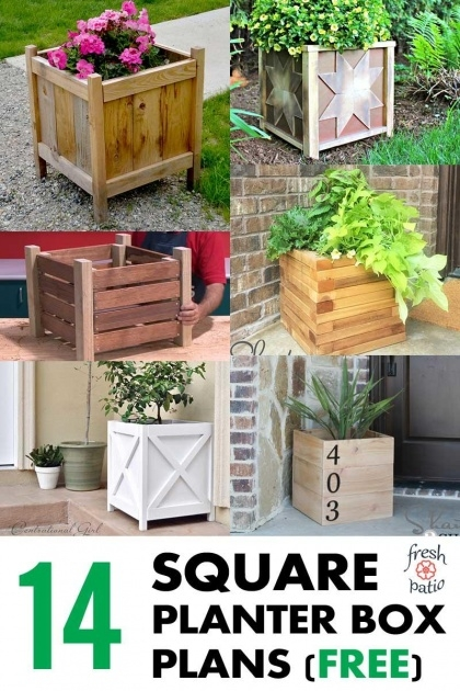 Ideas for Planter Box Plans Free Image