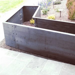 Steel Planter Boxes