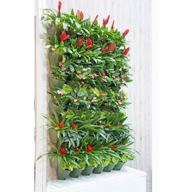 Ideas for Vertical Wall Planter Image