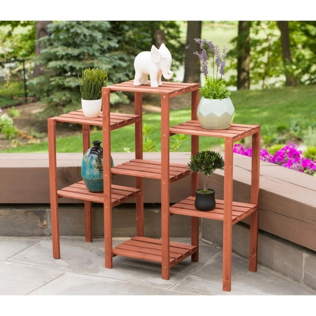 Ideas for Wooden Plant Stand Image