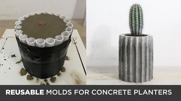 Imaginative Cement Planter Molds Image