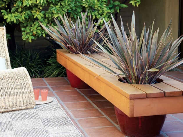 Imaginative Modern Planter Bench Picture