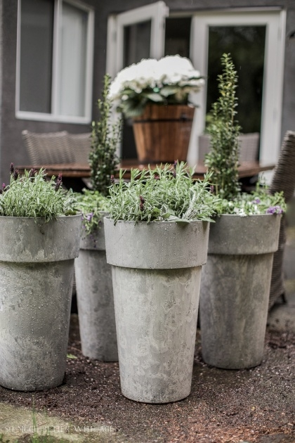 Imaginative Outside Planters Picture