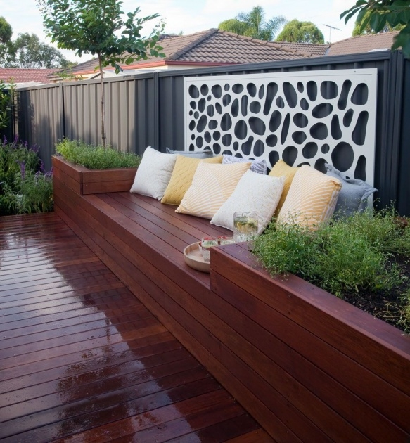 Imaginative Planter Box Seat Photo