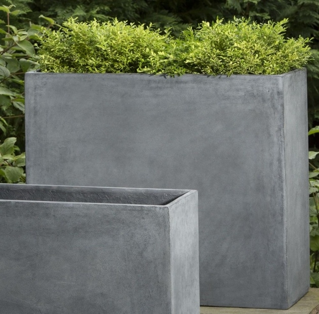 Imaginative Rectangular Concrete Planters Picture
